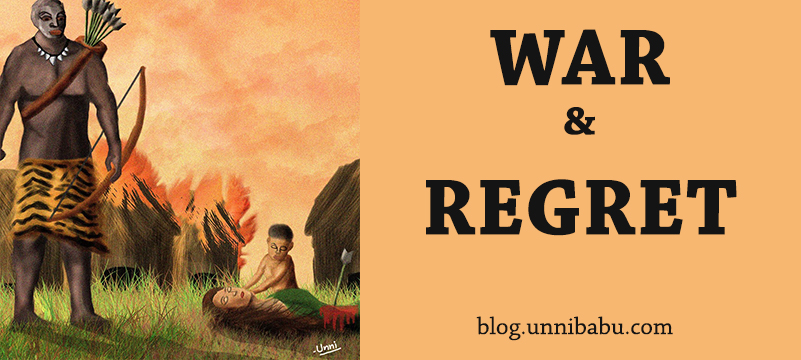 war and regret, war artof tribal war painting