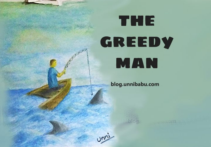 The greedy man | Thought through art