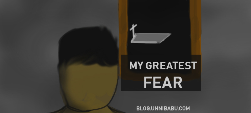my greatest fear | personal journal , fear artwork