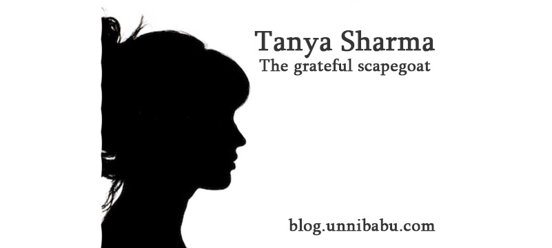 tanya sharma the grateful scapegoat, women short story