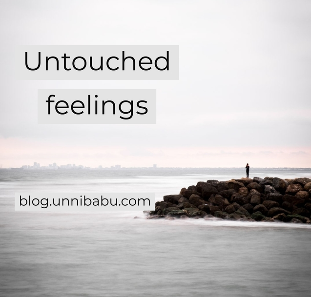 untouched feelings short poem