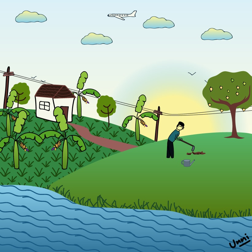 farming vector art