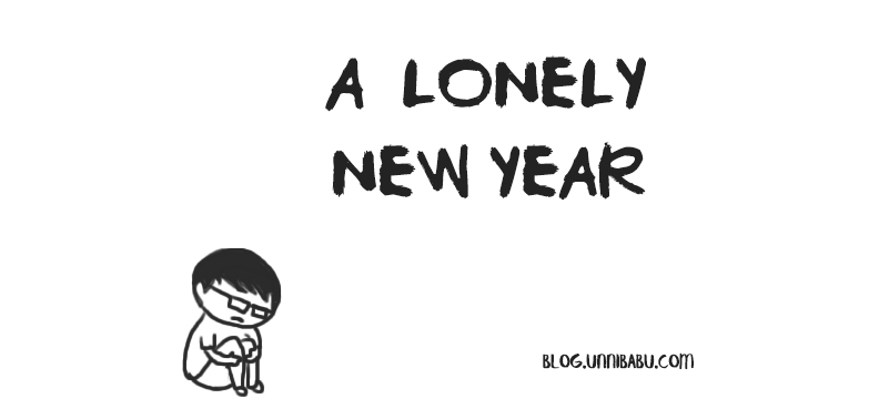 a lonely new year | personal journal